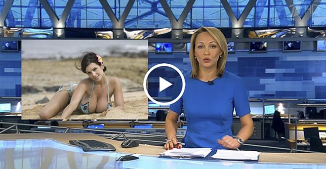Голые русские ведущие новостей