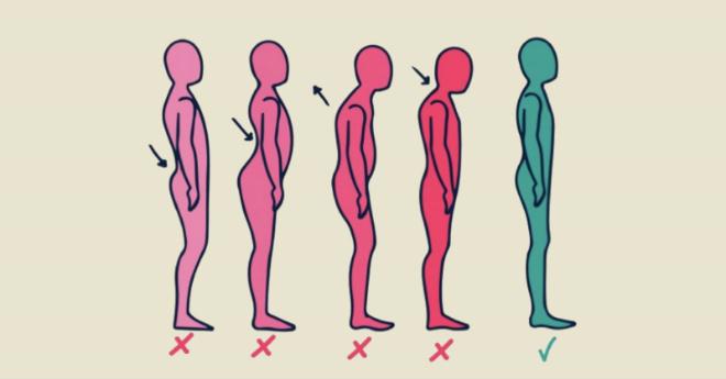 Как выпрямить спину если горбишься