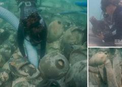 Дайверы нашли затонувший корабль с ценностями из Древнего Рима